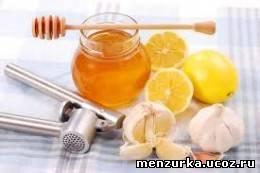 Чесночный мед от простуды